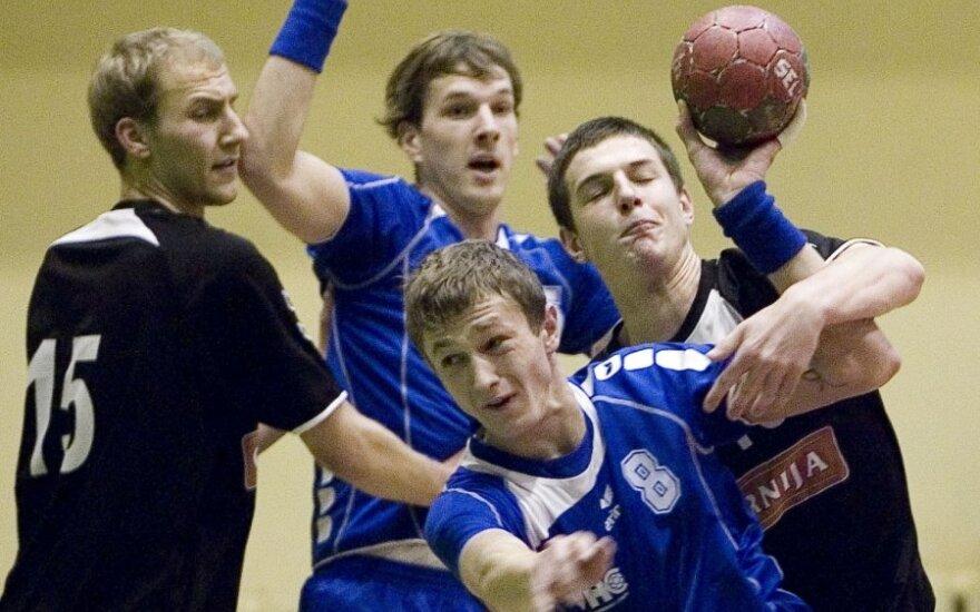 Lietuvos rankinio taurės turnyro pusfinalyje - Vilniaus klubo pergalė