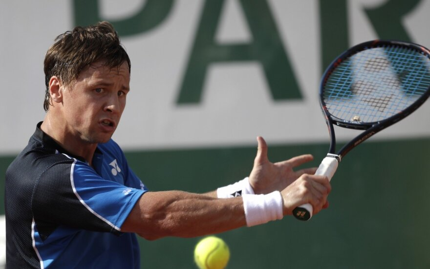 Roland Garros turnyras: Ričardas Berankis - Alexanderis Zverevas