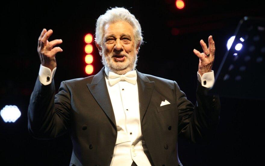 Operos žvaigždė Placido Domingo nepasirodys Tokijo olimpiados kultūriniuose renginiuose