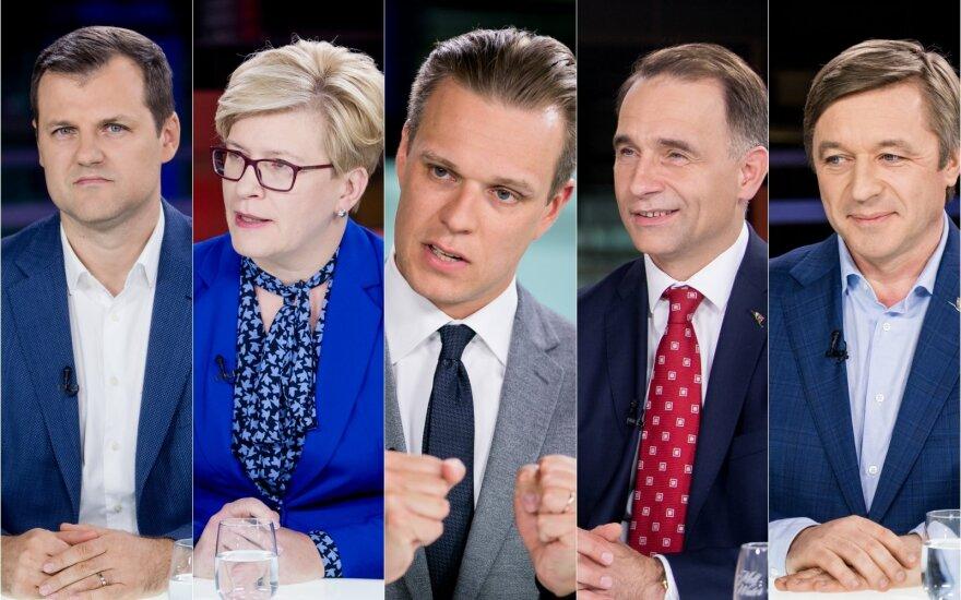 Penkių politinių lyderių didžiausi iššūkiai 2020 metams: nuo išlikimo iki įsitvirtinimo