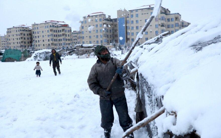 Šalčio sukaustytas Kabulas