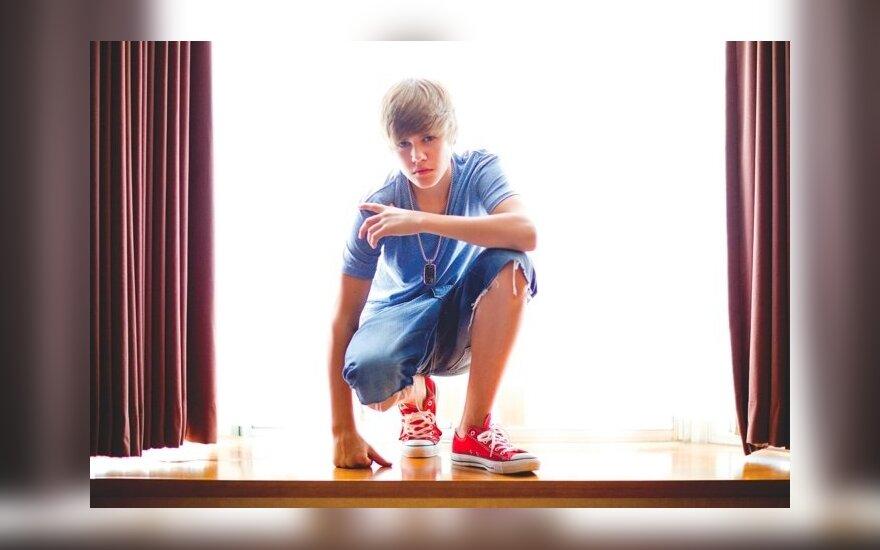 """Justinas Bieberis, kadras iš knygos """"Pirmas žingsnis į amžinybę. Mano istorija"""""""