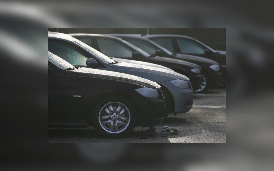 Siūloma keisti iš užsienio įvežtų mašinų registravimo tvarką