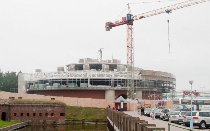 Lietuvos jūrų muziejus klimpsta rekonstrukcijose
