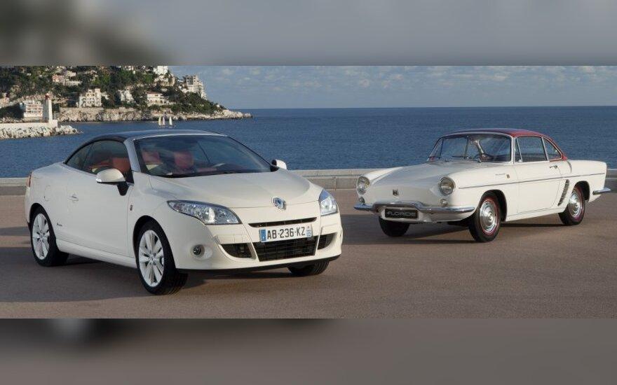 Renault Mégane Coupé-Cabriolet Floride ir legendinis Floride