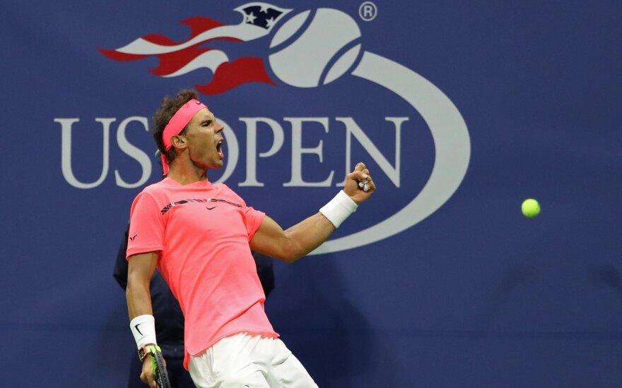 US Open, R. Nadalis - L. Mayeris