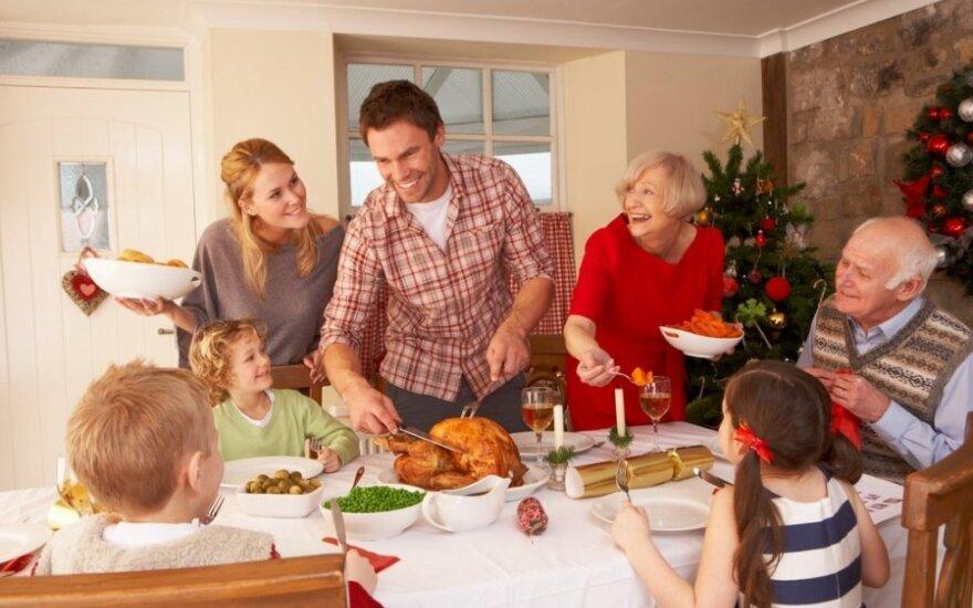 Kuriuose namuose jūs švęsite Kalėdas?