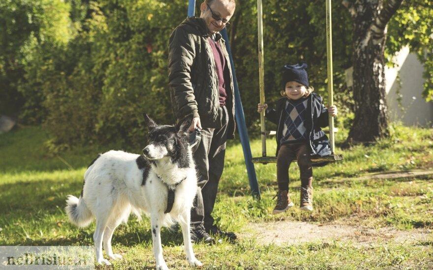 Šeimininkas apie Rūną: atrodo, kad ji katė šuns kailyje