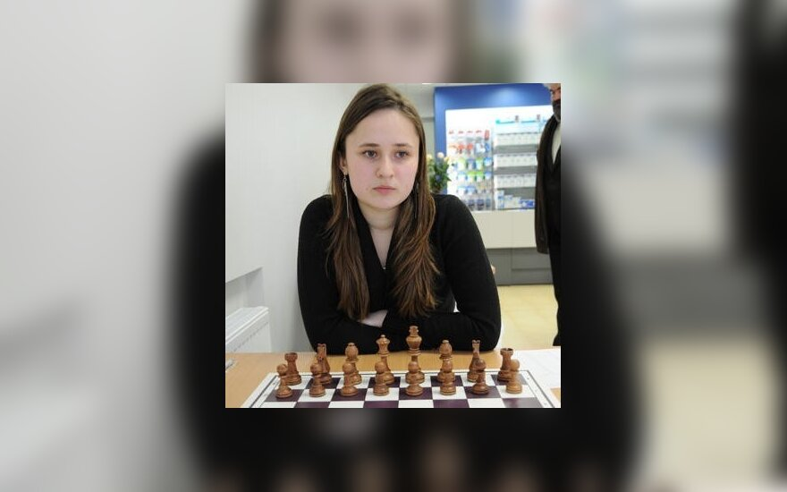 Pirmosios D.Daulytės lygiosios Europos moterų šachmatų čempionate