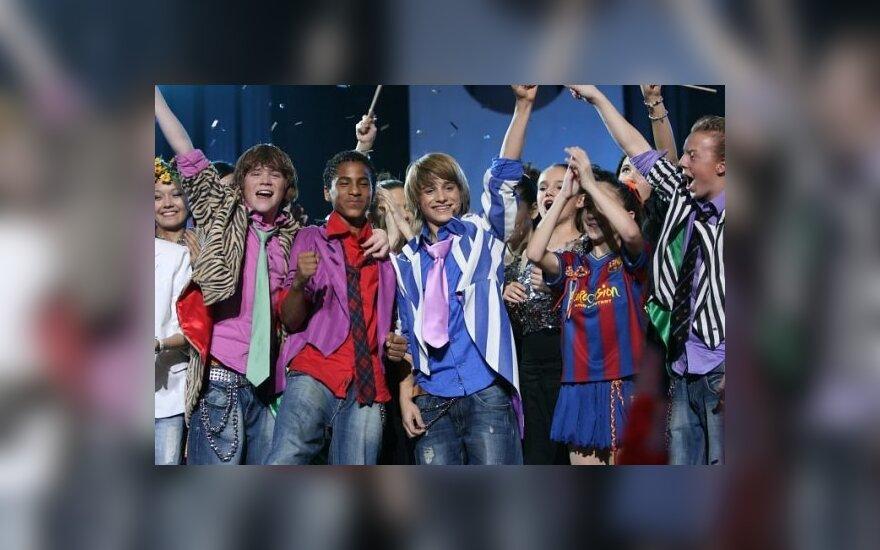 """Paskelbta atranka į vaikų dainų """"Euroviziją"""""""