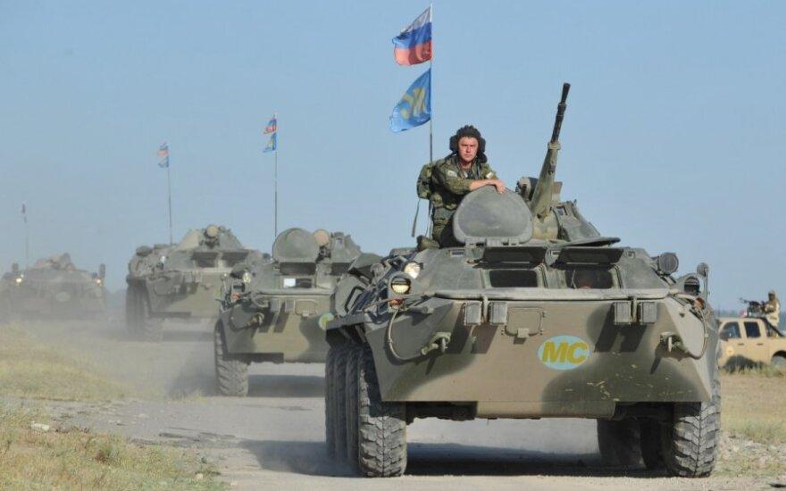 Pentagonas: Rusijos pajėgos prie Ukrainos – didesnės nei bet kada anksčiau