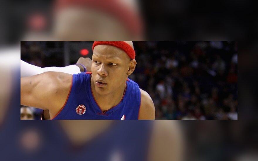 """Charlie Villanueva (""""Detroit Pistons"""")"""