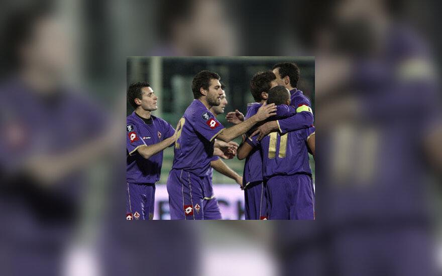 """""""Fiorentina"""" futbolininkai"""