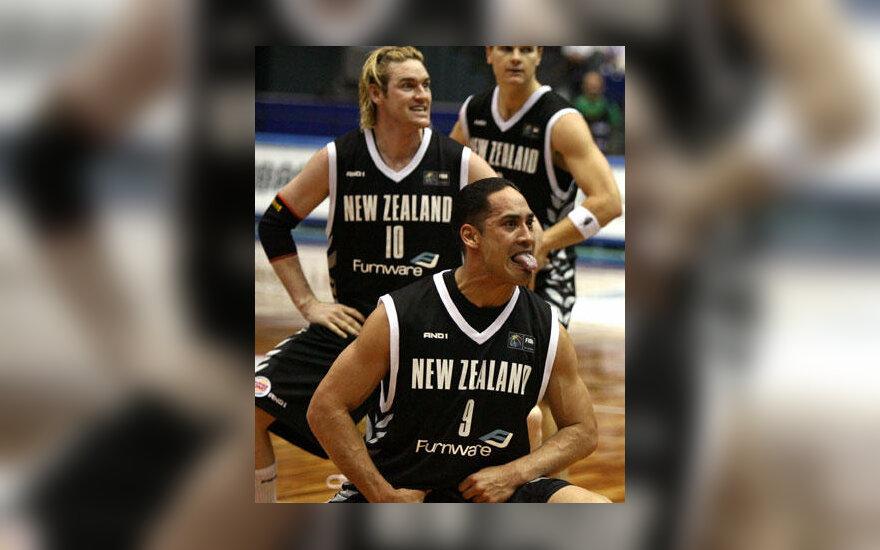 Maorių šokiai neišgelbėjo Naujosios Zelandijos krepšinio rinktinės nuo pralaimėjimo