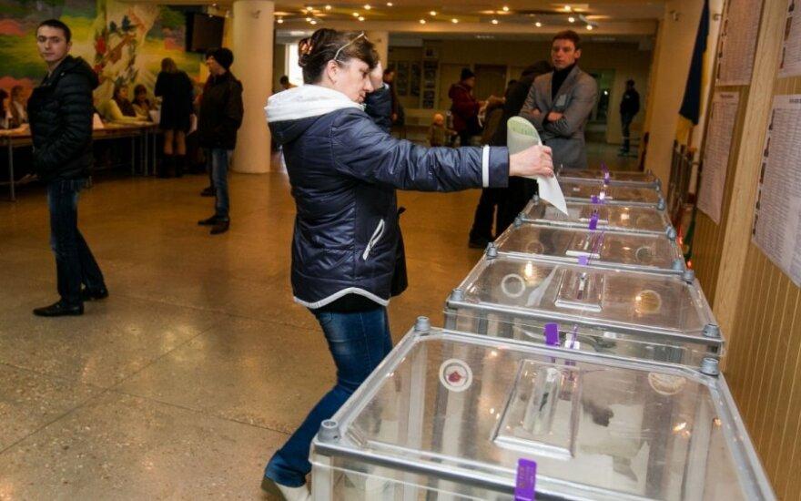 Rinkimai Ukrainoje - lemtingi penkiems politikams