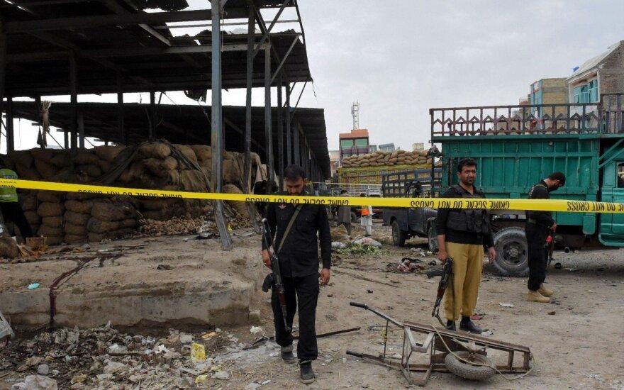 Pakistane per sprogdinimą turguje aukų padaugėjo iki 20