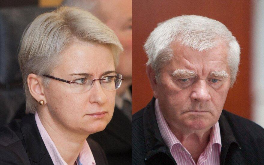 Neringa Venckienė ir Vytautas Andrius Kedys