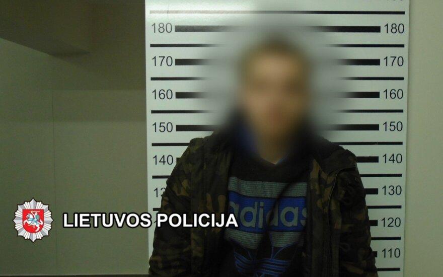 Uostamiestyje sulaikytas vyras, įtariama, dideliais kiekiais platino kanapes