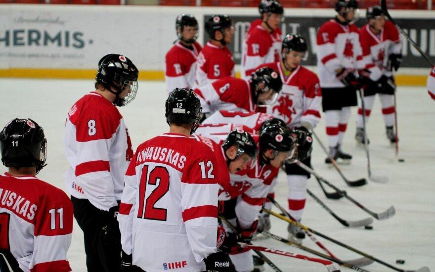 A Lithuanian junior hockey team