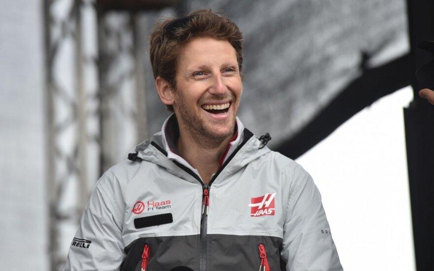 Romainas Grosjeanas