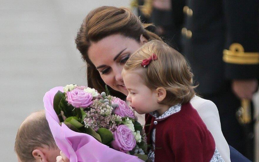 Princesė Charlotte ir Kate Middleton