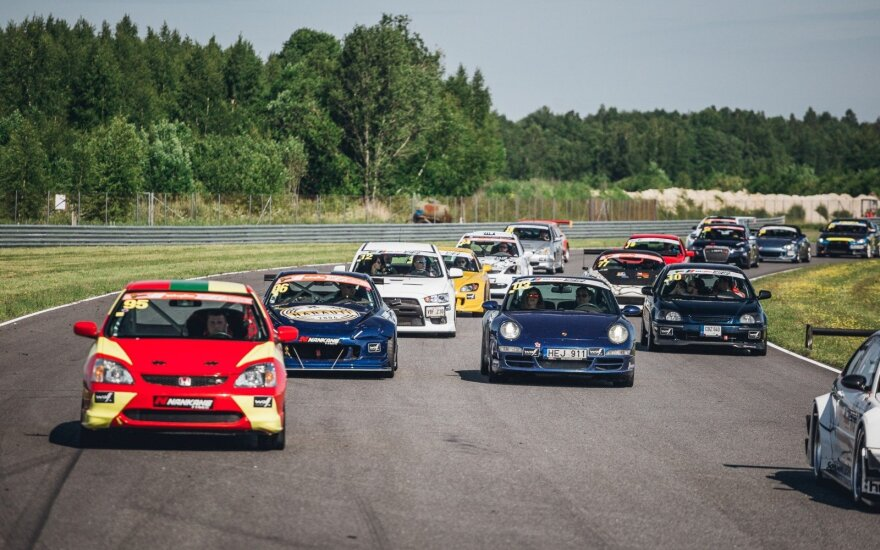 """Fast Lap"" lenktynės Estijoje"