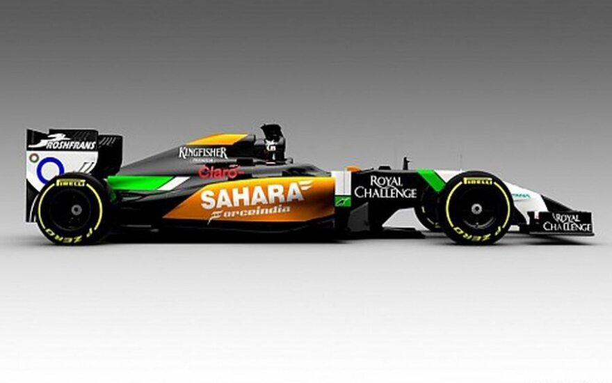"""Force India"" automobilis"