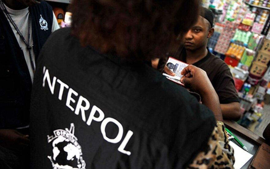Interpolo vadovo paieškose – netikėta atomazga