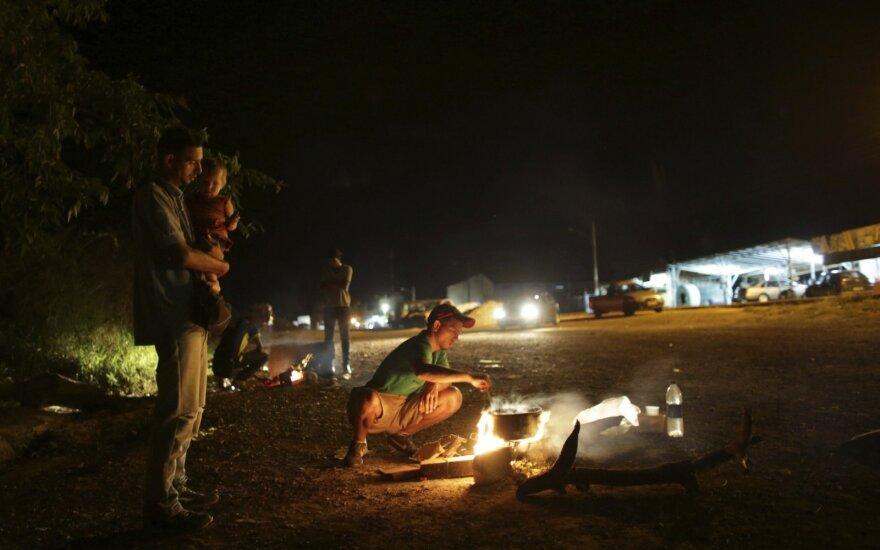 Kolumbijos pareigūnas: iš Venesuelos armijos dezertyravusių kariškių skaičius viršijo 320