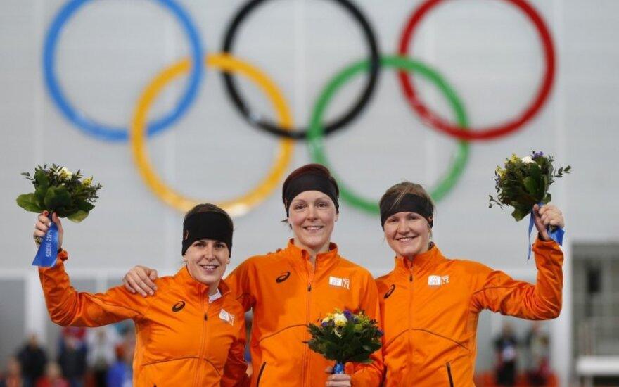Olandijos sportininkės