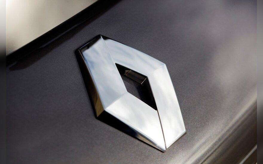 """Prancūzijos vyriausybė pardavė dalį turimų """"Renault"""" akcijų"""