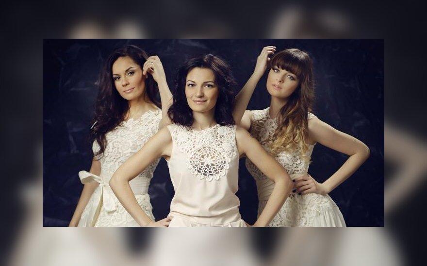 Kristina Navickaitė-Tina, Viktorija Jakučinskaitė ir Gabrielė Martirosianaitė