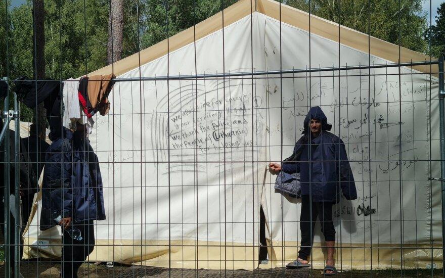 Migrantų stovykla Rūdninkuose