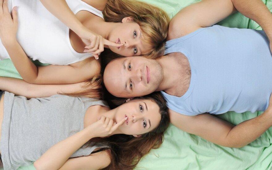 7 temos, labiausiai įaudrinančios seksualines fantazijas
