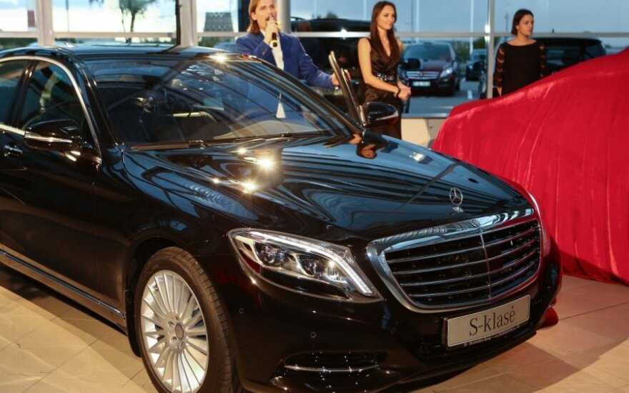 "Naujosios ""Mercedes-Benz"" S-klasės pristatymas"