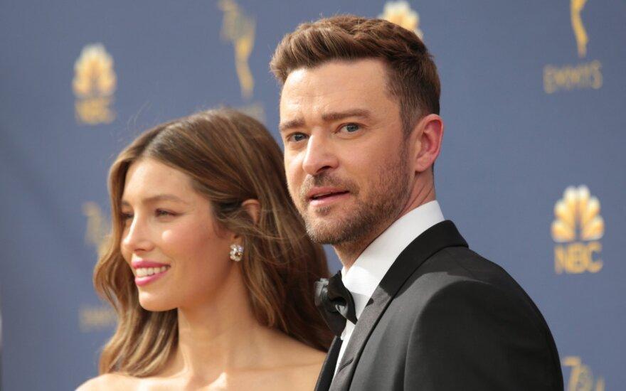 Jessica Biel ir Justin Timberlake