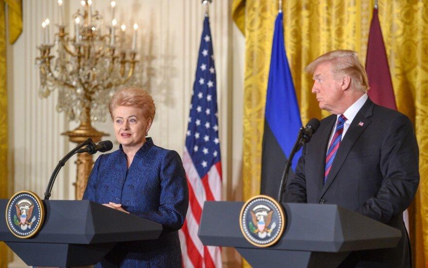Dalia Grybauskaitė, Donald Trump