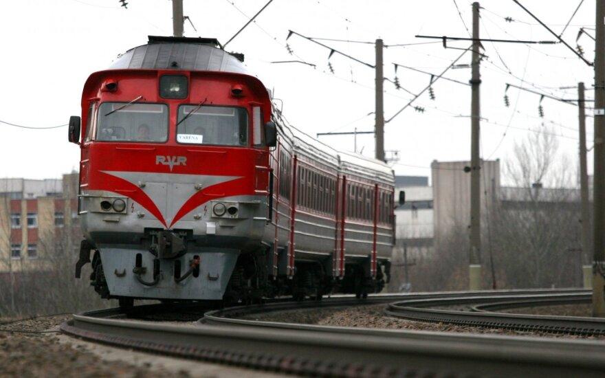 Atsisakoma traukinių maršruto Vilnius-Maskva-Vilnius