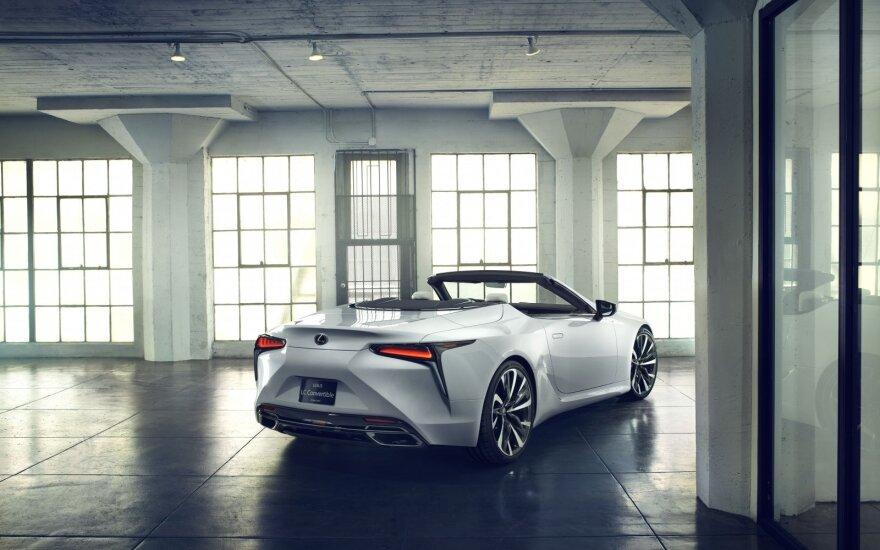"""Lexus LC"" kabrioleto koncepcija"
