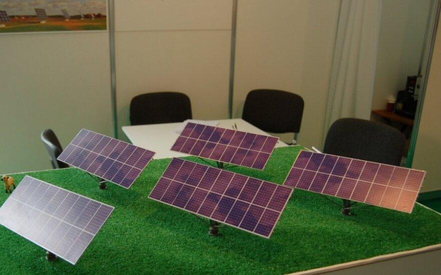 Saulės jėgaines skuba įrengti dar šiemet