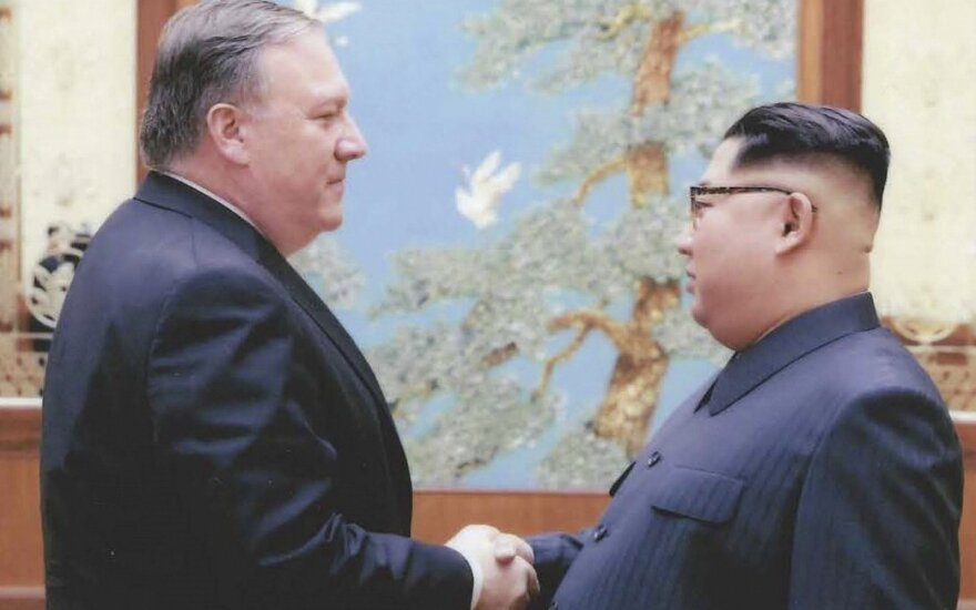 Mike'as Pompeo, Kim Jong Unas
