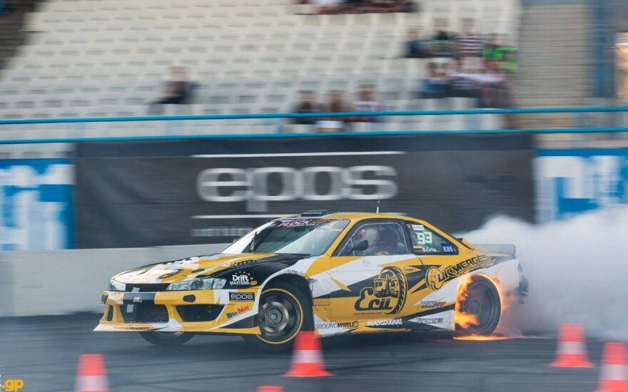 """Trečiasis """"Drift Masters GP"""" etapas"""