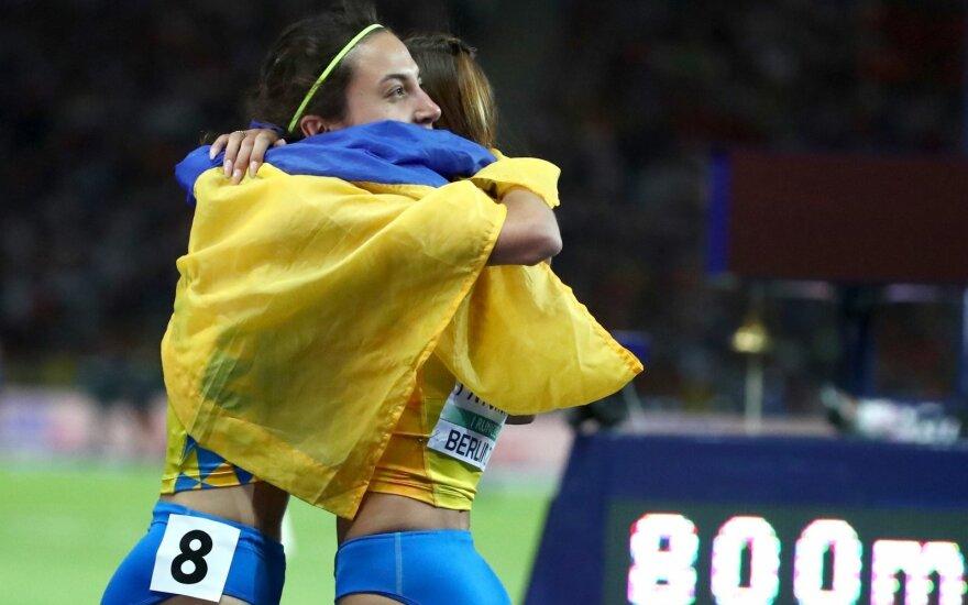 Ukrainos sportininkės
