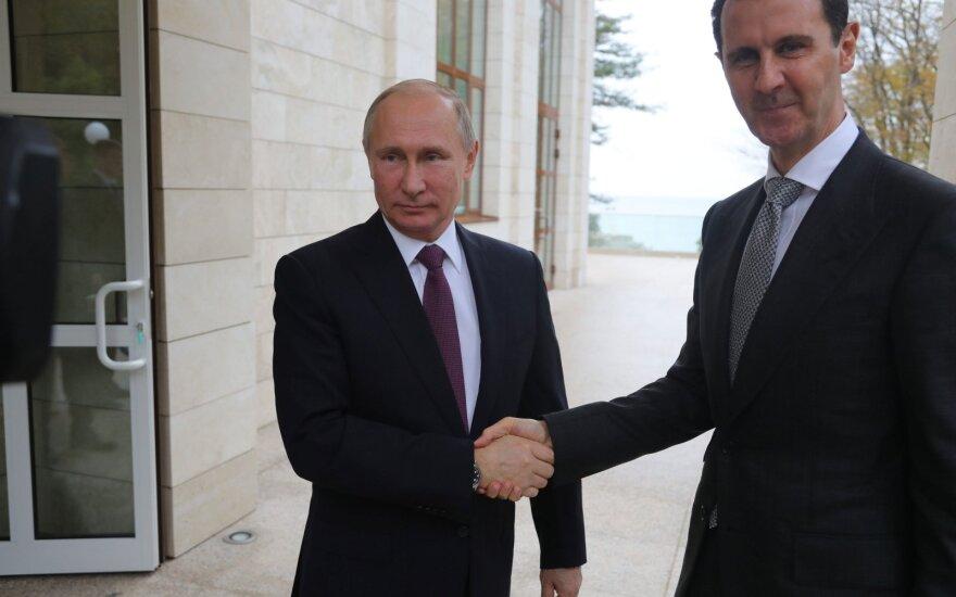 Vladimiras Putinas, Basharas Al-Assadas