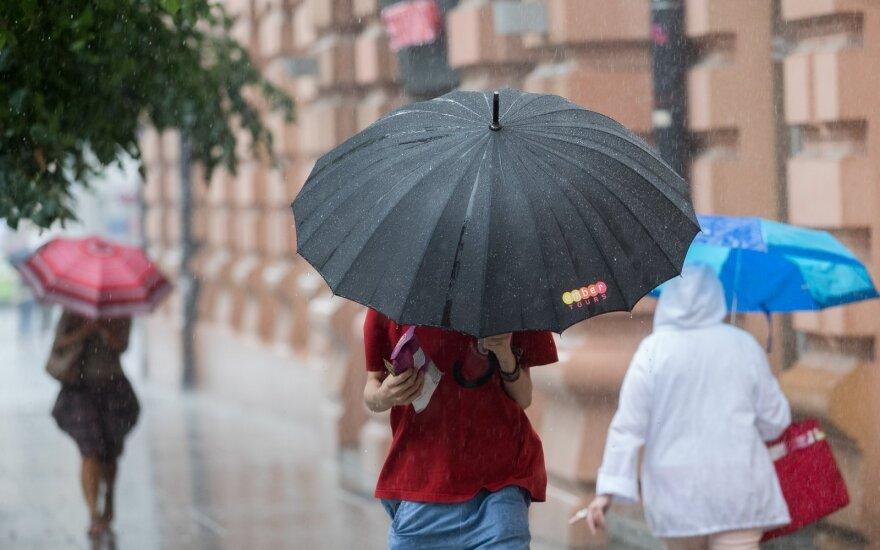 Orai: malonią šilumą slopins lietūs