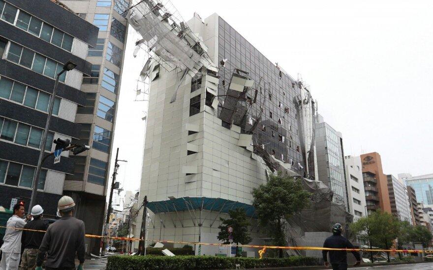 """Japonija po taifūno """"Jebi"""""""