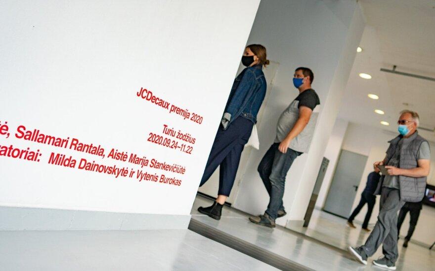 """Parodos """"JCDecaux premija 2020: Turiu žodžius"""" atidarymas"""