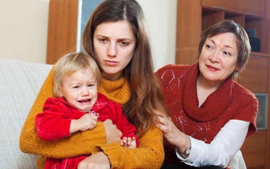 Padėkite: anyta nori pasisavinti mano vaiką