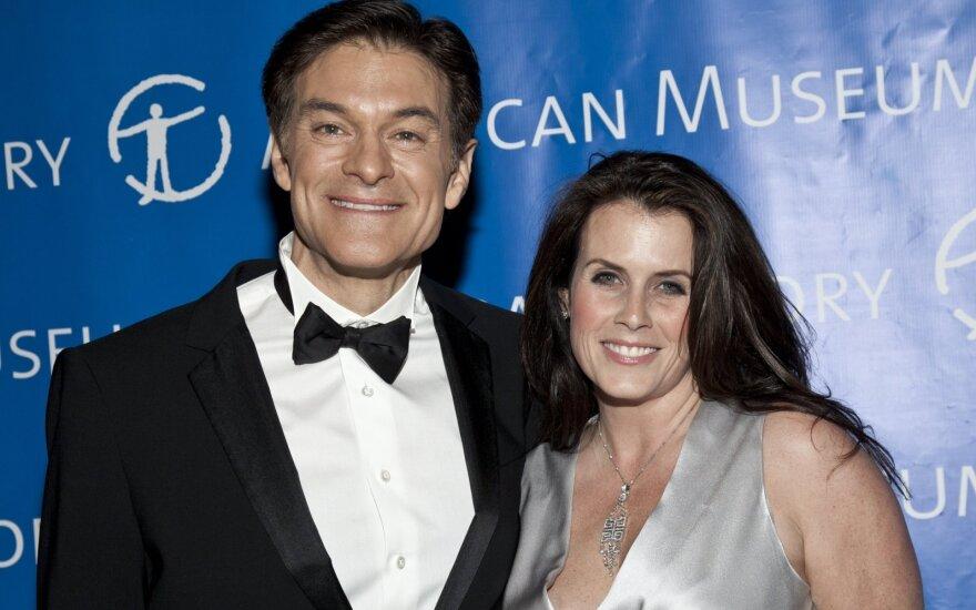 Daktaras Ozas su žmona Lisa