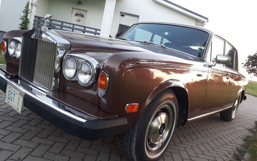 """1977 metų """"Rolls-Royce Silver Wraith"""""""